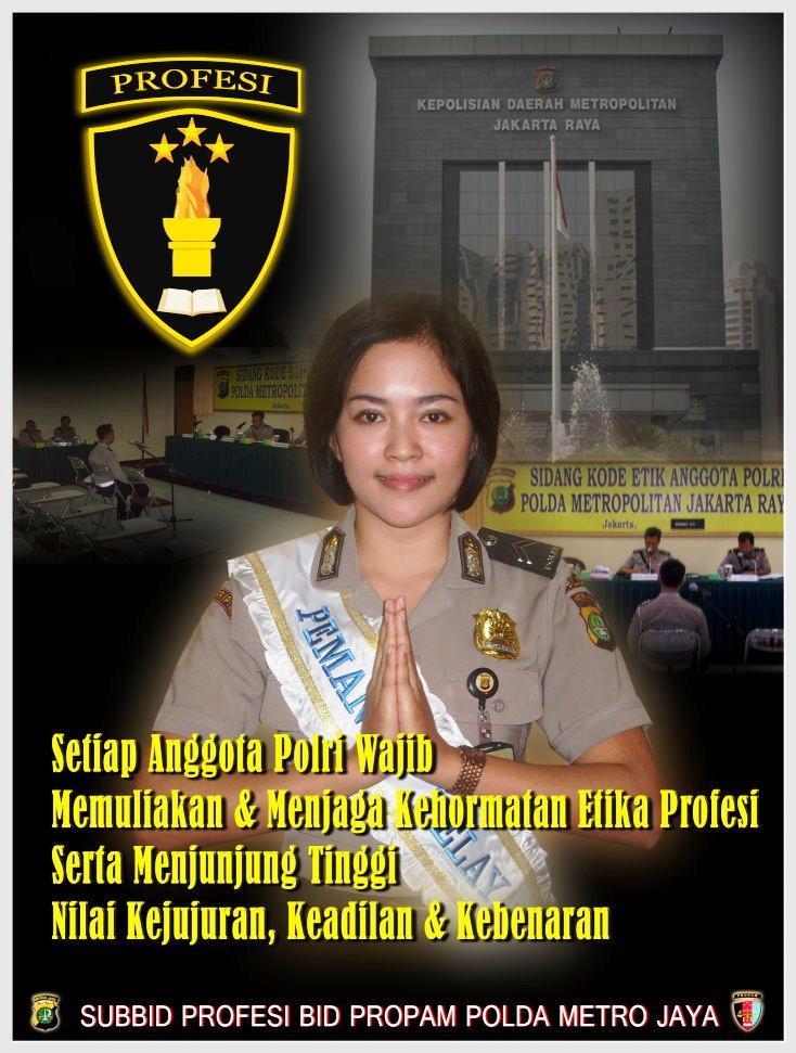 Published 29 juli 2010 at 734 × 971 in poster propam polda metro jaya