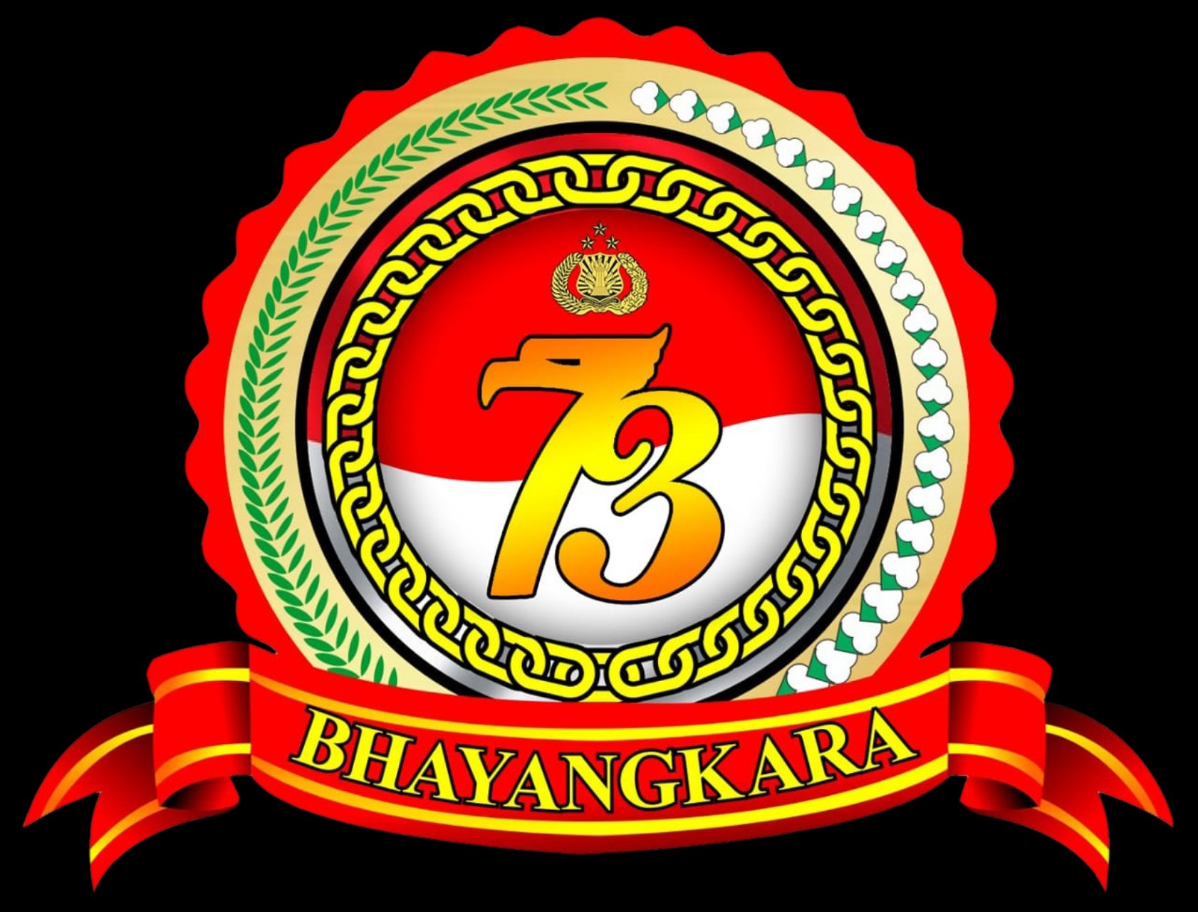 LOGO HUT BHAYANGKARA KE 73 – nurman1999